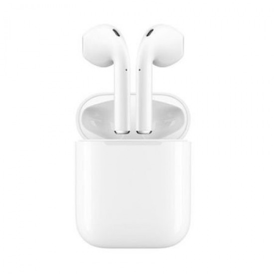 99.00 - Casti audio wireless tip AirPods i12, profesionale, bluetooth 5.0 + EDR, 3D sound - Casti Audio