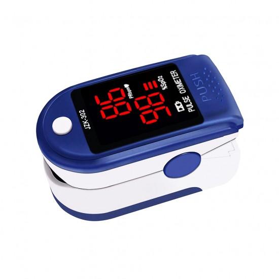 75 - Oximetru pentru masurarea nivelului de oxigen din sange pulsului, JZK-302 Oximeter - Articole Sanatate