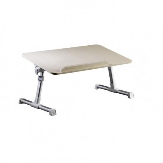 104.30 - Masa, Stand pentru laptop Multifunctionala T7, Reglabila din Lemn - Mese Laptop