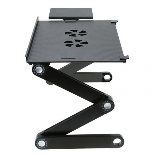 139.30 - Masa, Stand pentru laptop Multifunctionala T8, Reglabila, 2 Ventilatoare - Mese Laptop