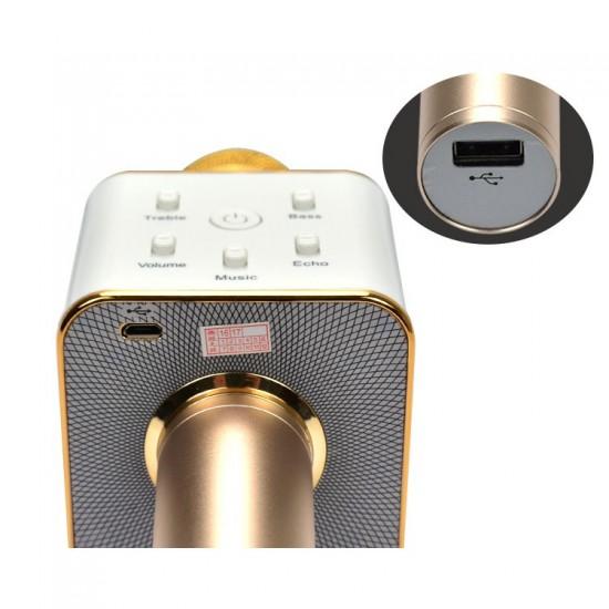 90.30 - Microfon Wireless, M1 cu Boxe Integrate pentru Karaoke, Redare mp3, Bluetooth - Microfoane