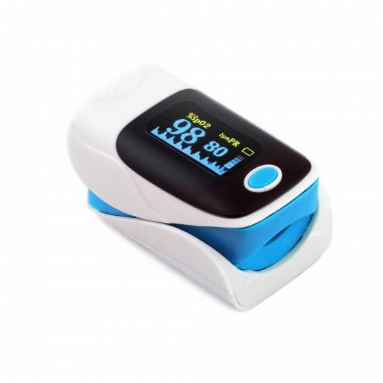 35 lei pret redus la Puls-Oximetru JZK303, puls 30-250 bpm, Afisare spo2, pr, Bara puls - Articole Sanatate